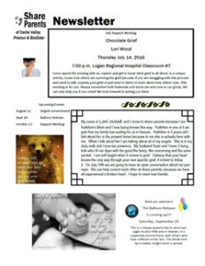 July 2016 Newsletter Thumb